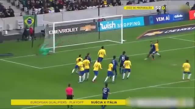 خلاصه بازی ژاپن ۱-۳ برزیل