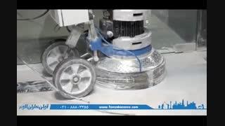 عملیات بهسازی و ترمیم سنگ توسط دستگاه های پیشرفته صنعتی