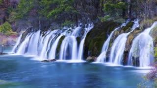 """مکانی زیبا بر روی زمین - """" پارک ملی  Jiuzhai Valley چین"""""""