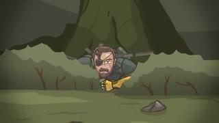 کارتون بازی Metal Gear Solid 5: The Phantom Pain parody
