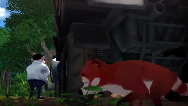 انیمیشن آشوب در جنگل Jungle Shuffle 2014 HD با دوبله فارسی