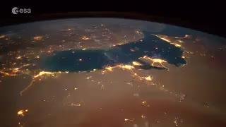 ویدئو دیدنی زمین از دید یک فضانورد