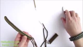 نحوه درست کردن دستبند پاراکورد