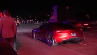 اولین تست رانندگی با تسلا رودستر 2020