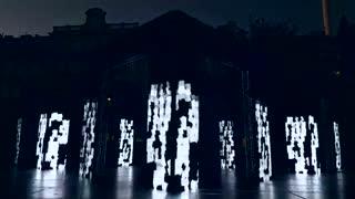 اجرای بی نظیری با نور و موزیک
