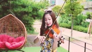 کاور آهنگKOKO BOp از exo(اینم قشنگه)با ویالون
