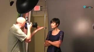 آموزش عکاسی : بیوتی دیش , برای فرم دادن به سایه ها