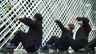 اجرای گروه معرکههه ی wanna one با اهنگ Beautiful در برنامه ی Inkigayo