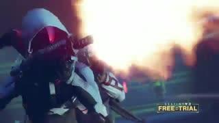 تریلر نسخه ازمایشی بازی Destiny 2