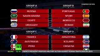 جدول نهایی قرعه کشی بازیهای جام جهانی فوتبال 2018 روسیه تیم های جهانی