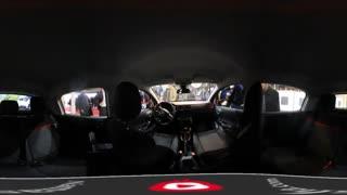 نمای 360 درجه داخل خودروی C3 در نمایشگاه خودرو تهران