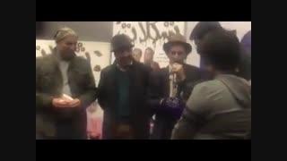اکران مردمى فیلم شکلاتى با حضور رضا عطاران