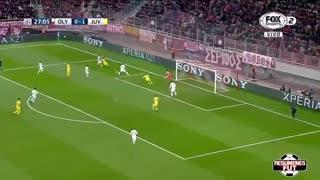 خلاصه فوتبال المپیاکوس 0-2 یوونتوس