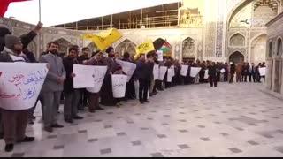 اجتماع خودجوش در حمایت از مردم مظلوم فلسطین