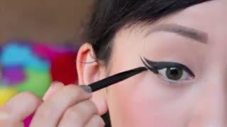 خط چشم-9 روش کشیدن خط چشم
