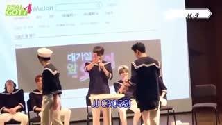 GOT7 jb vs jinyoung ویدیویی از مبارزه های مامان (جینیونگ) و بابای (جی بی ) گات سون از زمان jj project تا به حال -بمب خنده