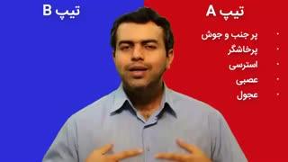دسته بندی رفتاری انسانها - مدیران ایران