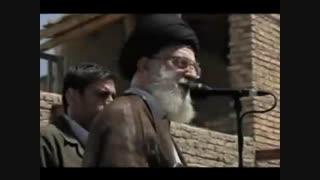 حضور سرزده رهبر انقلاب در مناطق زلزله زده کرمانشاه