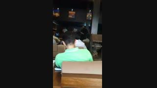 """اجرای آهنگ """"باغ ما"""" در نشست احزاب اصلاح طلب کرج سراینده"""