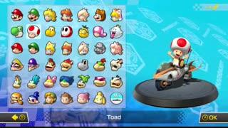 Mario Kart 8 Deluxe Menu