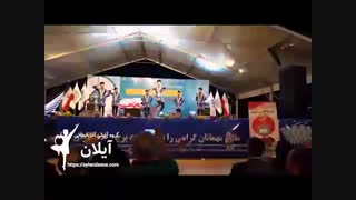 رقص شاد آذربایجانی در برج میلاد