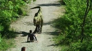 دوربین مخفی پارک ژوراسیک