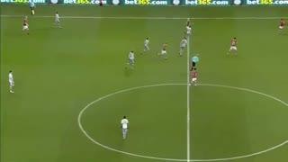خلاصه فوتبال بریستول سیتی 2-1 منچستریونایتد