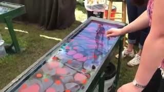 مدل شال-چاپ سیلک روی شال