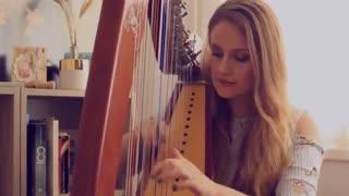 کاور زیبا آهنگ مشهور دسپاسیتو (Harp Caver)