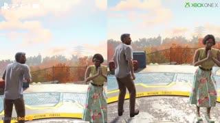 مقایسهی دو نسخهی PS4 Pro و Xbox One X بازی Fallout 4