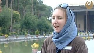 نظر گردشگران خارجی درباره مردم ایران