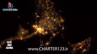 نمای کره زمین از فضا - روز و شب