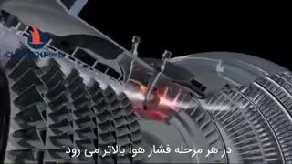 موتور هواپیما چگونه کار میکند