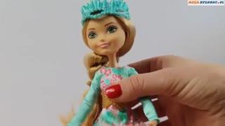عروسک اشلین الا(من)در اپیک وینتر