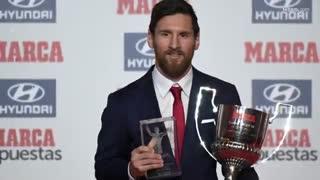 بهترین لحظات  مسی در سال 2017