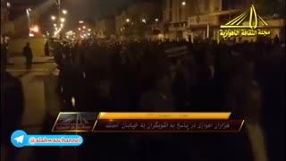 هزاران اهوازی با غیرت در پاسخ به آشوبگران و اغتشاشگران به خیابان ها آمدند.