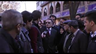 گوشه ای از درد دل مردم در گوشه و کنار خیابان های تهران
