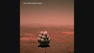 صحنه بسیار زیبا از لحظه به لحظه فرستادن کاوشگر کنجکاوی بر روی سیاره مریخ