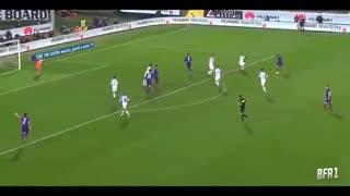 خلاصه فوتبال فیورنتینا ۱ - ۱ اینتر