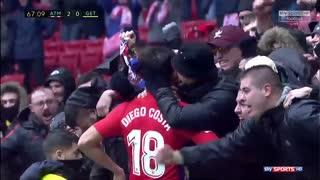 خلاصه بازی : اتلتیکو مادرید 2 - 0 ختافه ( HD )