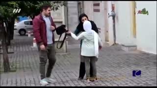 دوربین مخفی:  واکنش زنان ایرانی وقتی می بینن شوهرشون بچه داره