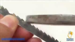 اره فلکه دست ساز مینیاتوری