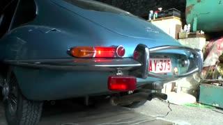 صدای موتور جگوار E-Type