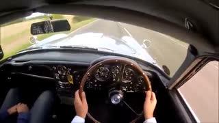 صدای موتور آستون مارتین DB5