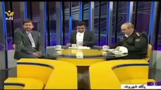 تیکه سنگین یک شهروند یزدی به پلیس راهور در برنامه زنده