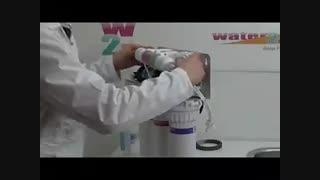 آموزش نصب دستگاه تصفیه آب زیر سینکی