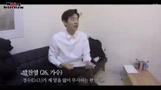 مصاحبه پشت صحنه ای موزیک ویدیو Universe اکسو 2# EXO