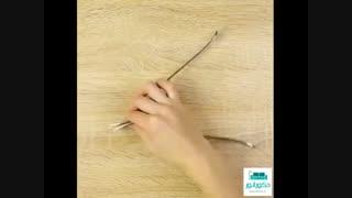 ایده های جالب و کاربردی با استفاده از چنگال غذاخوری