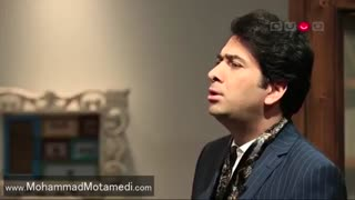 آواز بداهه محمد معتمدی در برنامه کتاب باز | Mohammad Motamedi