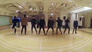 تمرین رقص electric kiss از exo